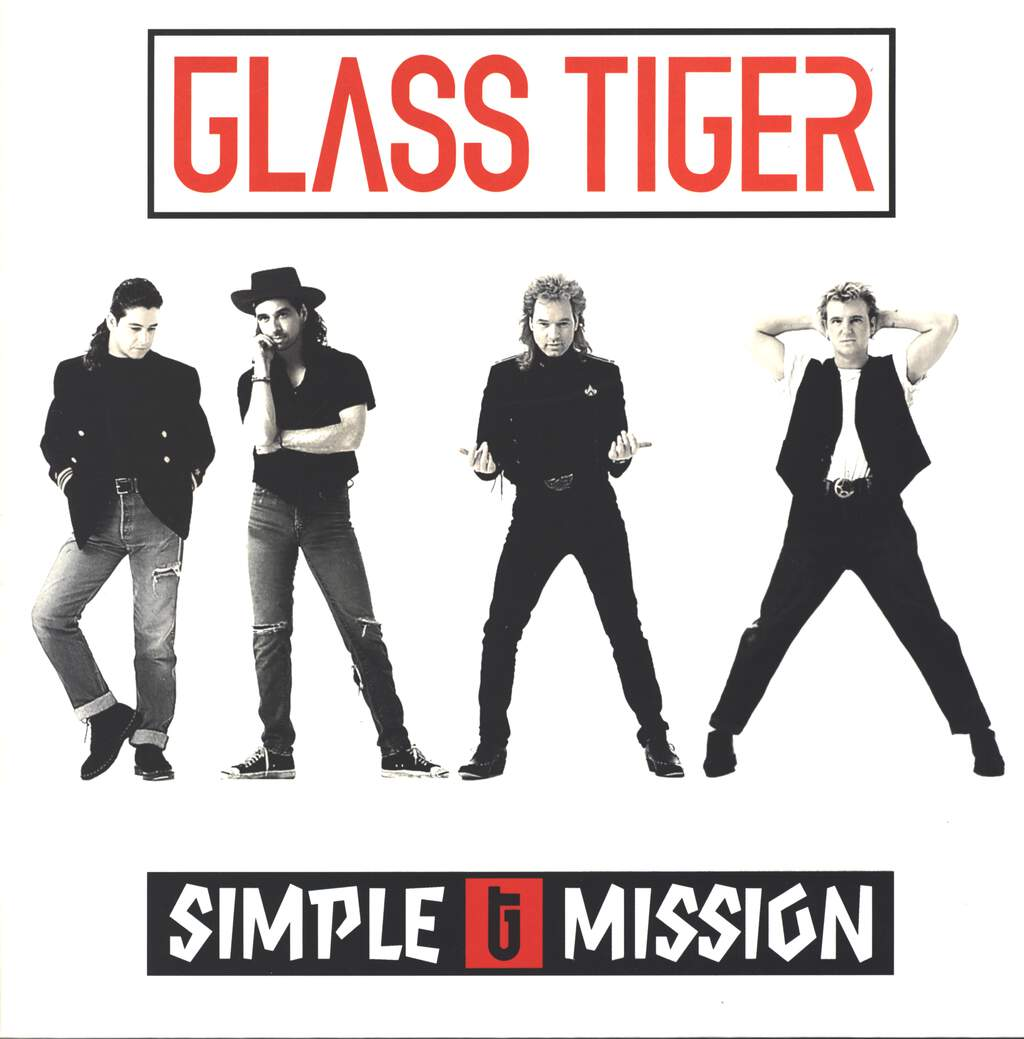 Glass Tiger: Simple Mission, LP (Vinyl)