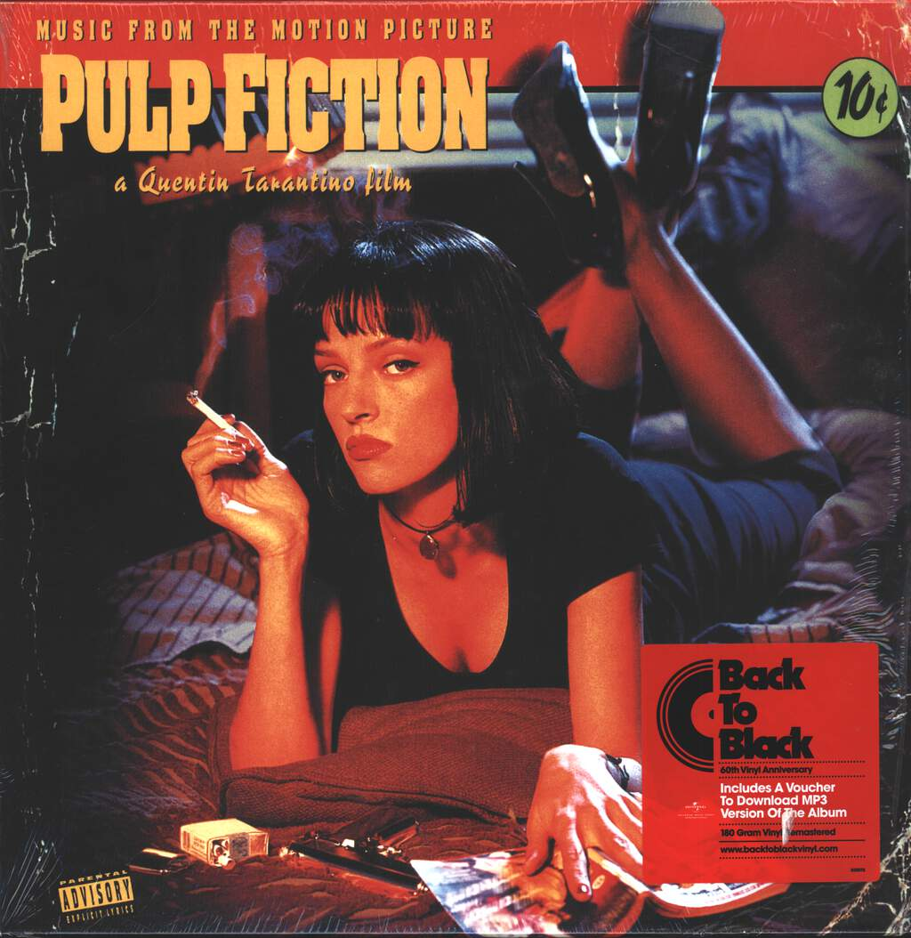 Various: Pulp Fiction (Music From The Motion Picture), LP (Vinyl)