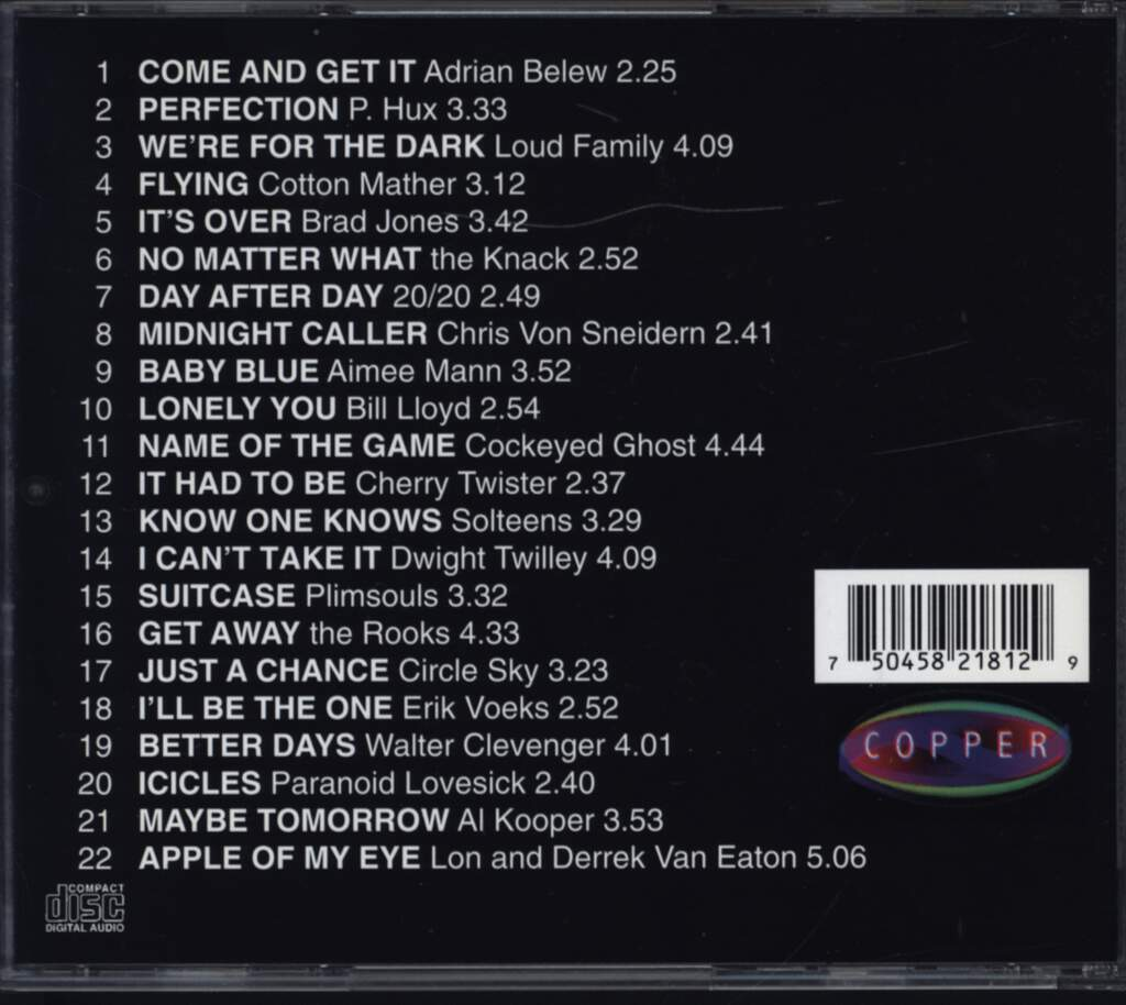 Various: Come And Get It: A Tribute To Badfinger, CD