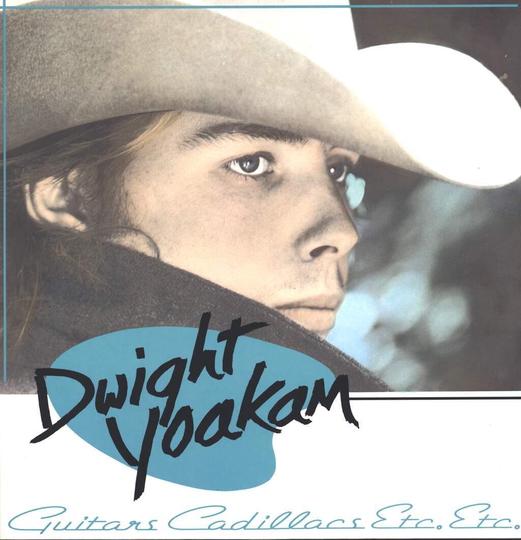 Dwight Yoakam: Guitars, Cadillacs, Etc., Etc., LP (Vinyl)