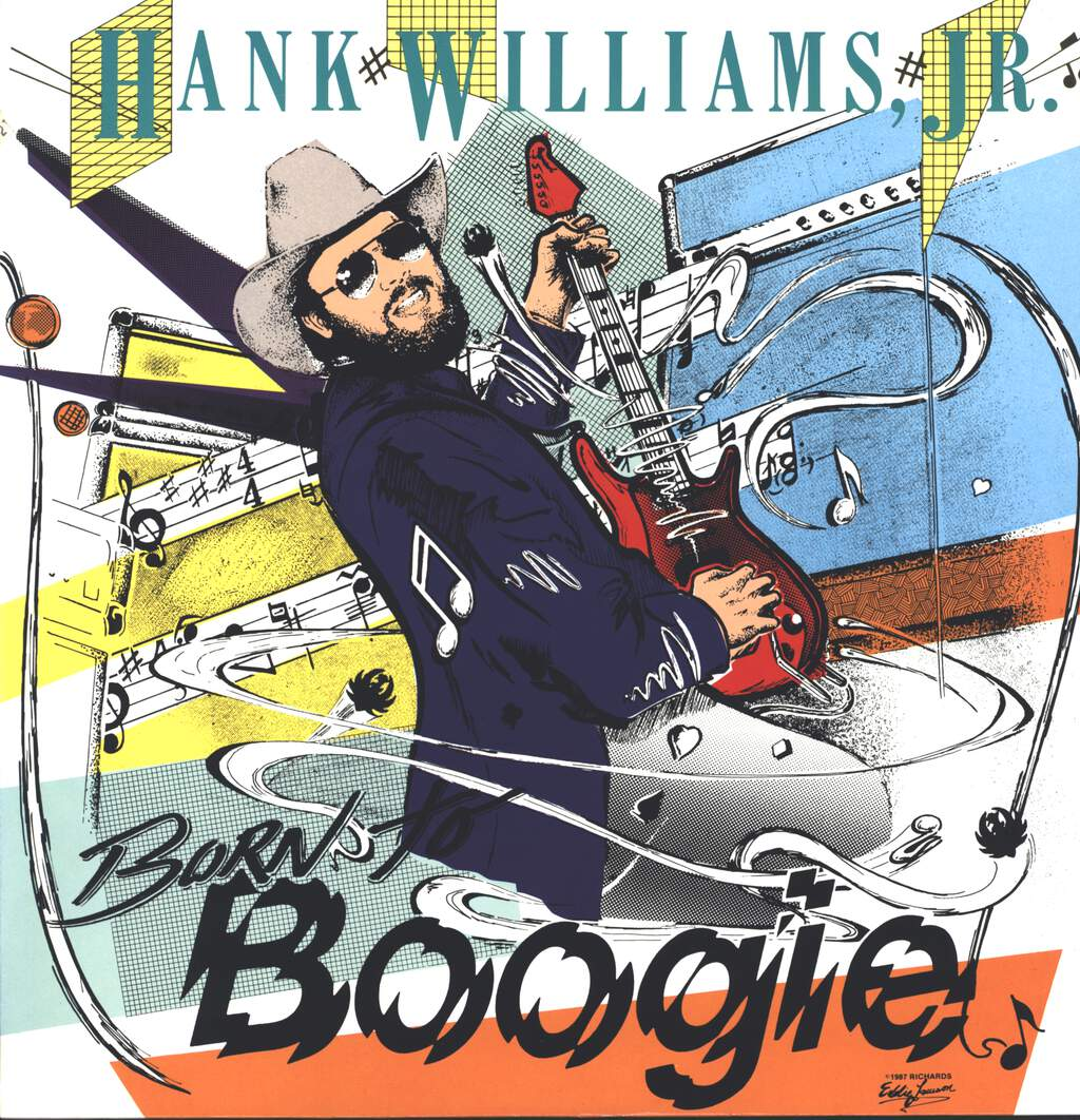 Hank Williams Jr: Born To Boogie, LP (Vinyl)