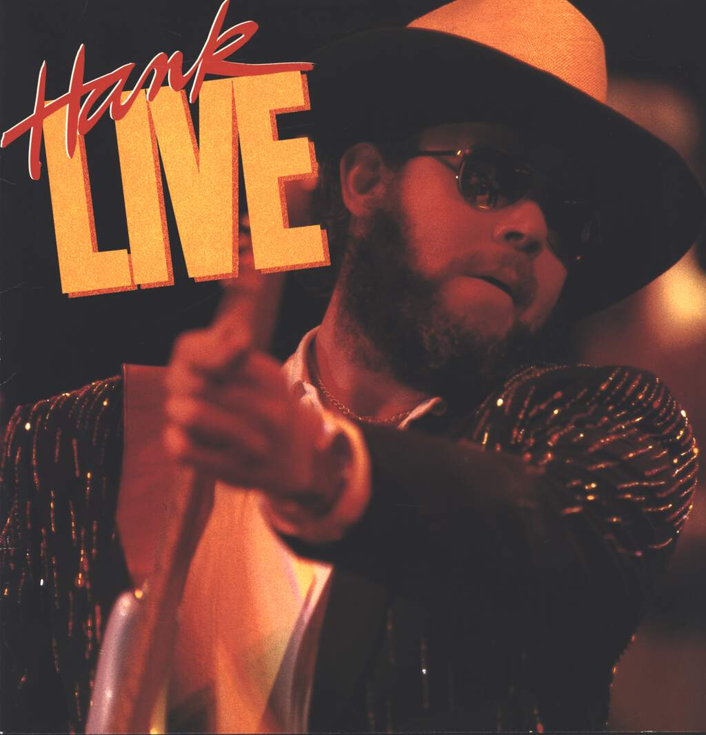 Hank Williams Jr: Hank Live, LP (Vinyl)