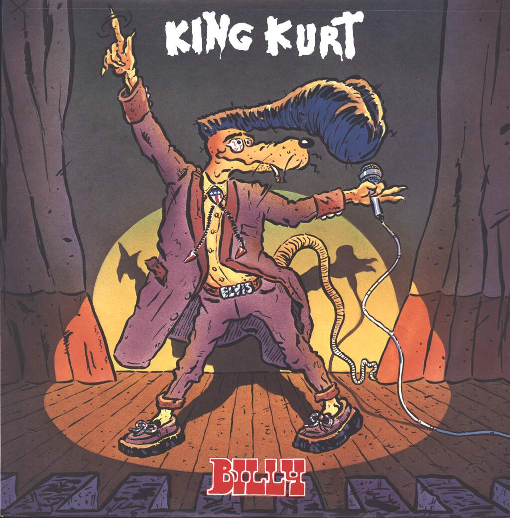 "King Kurt: Billy, 12"" Maxi Single (Vinyl)"