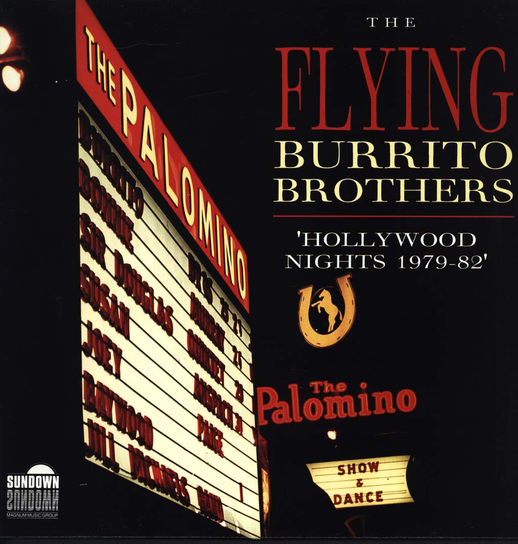 The Flying Burrito Bros: Hollywood Nights 1979-82, LP (Vinyl)