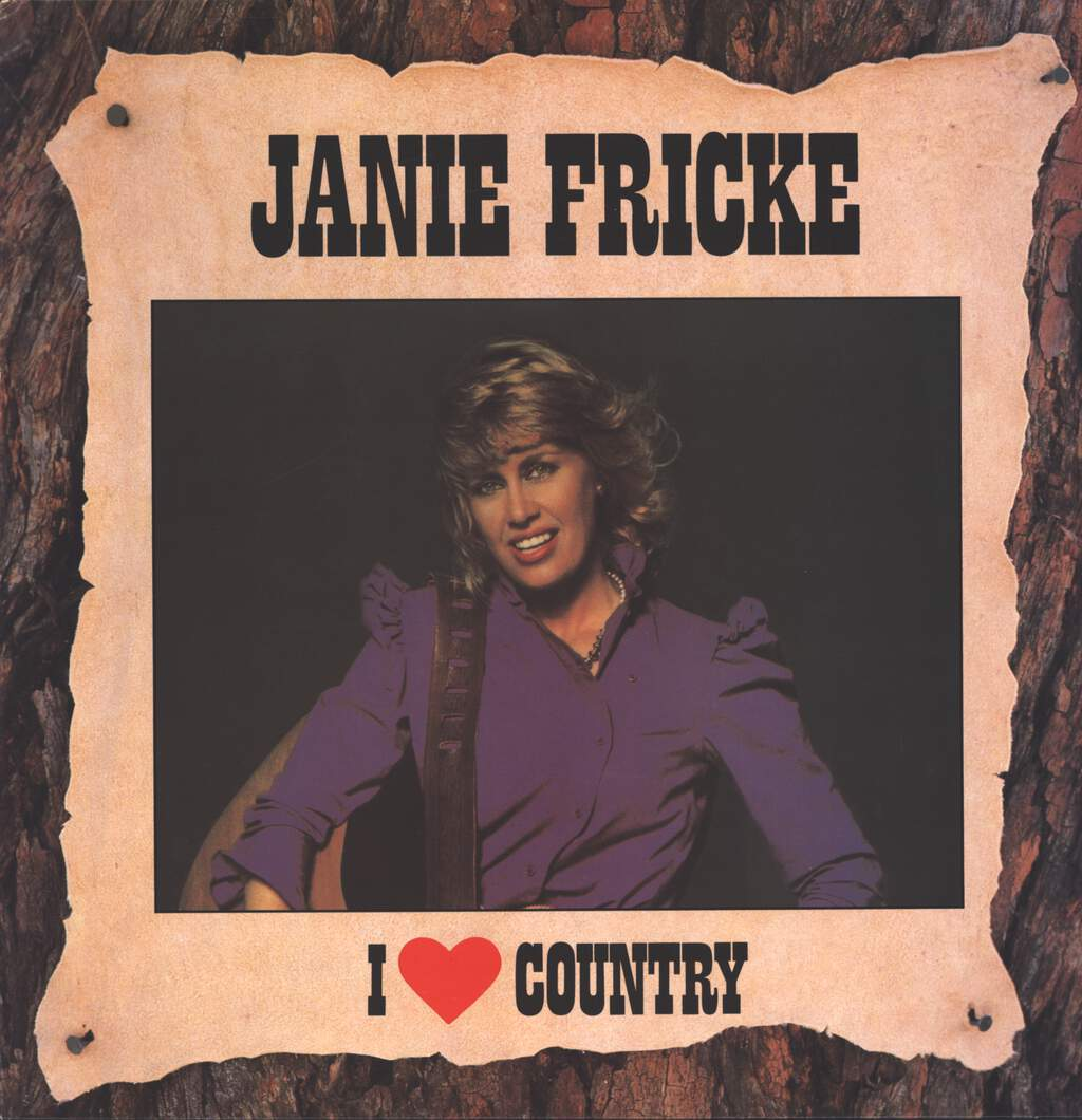Janie Fricke: I Love Country, LP (Vinyl)