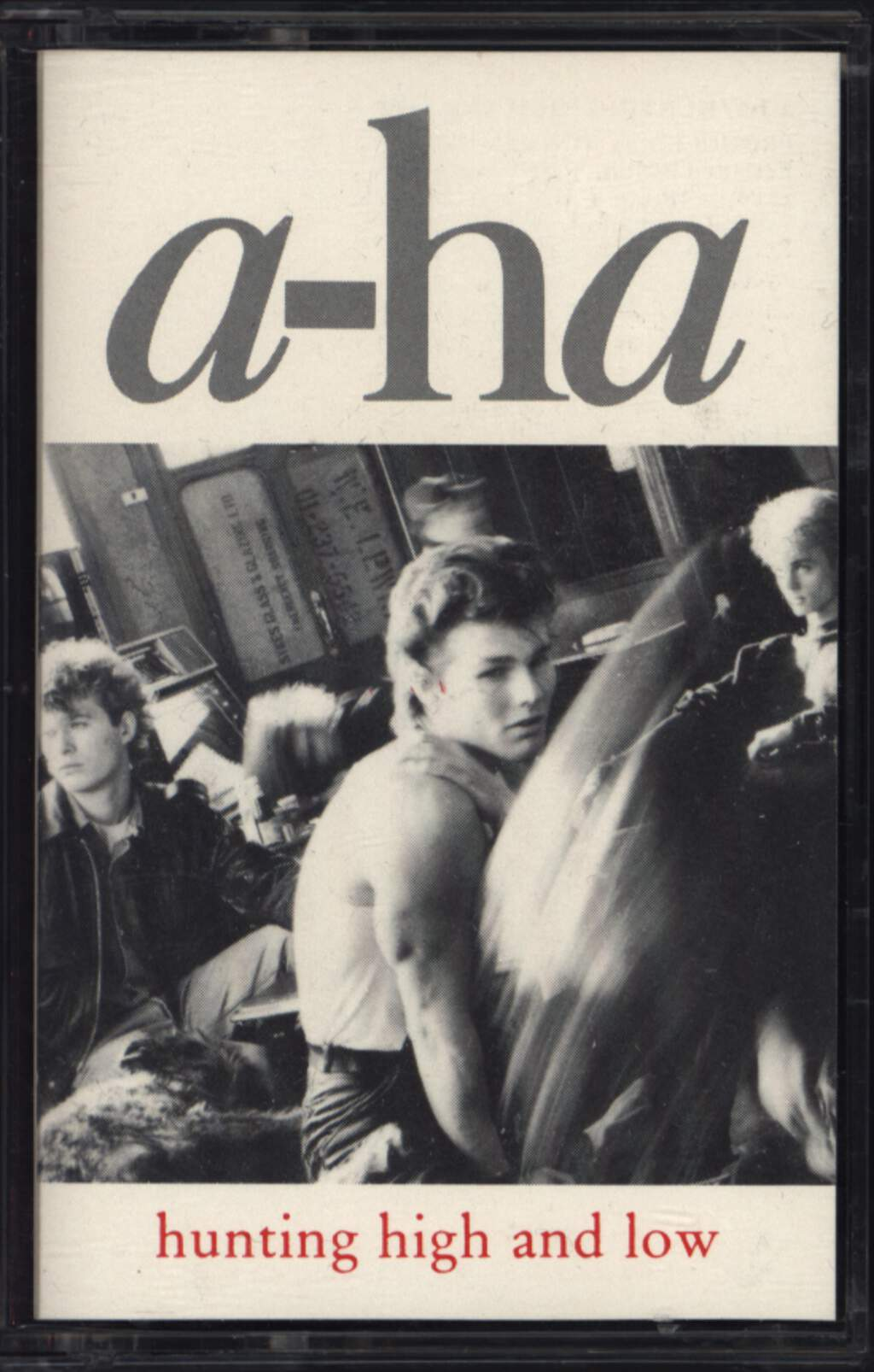 a-ha: Hunting High And Low, Compact Cassette
