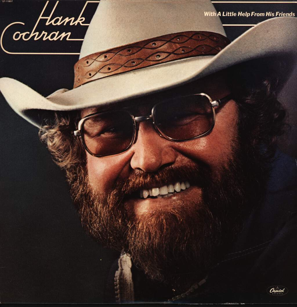 Hank Cochran: With A Little Help From His Friends, LP (Vinyl)