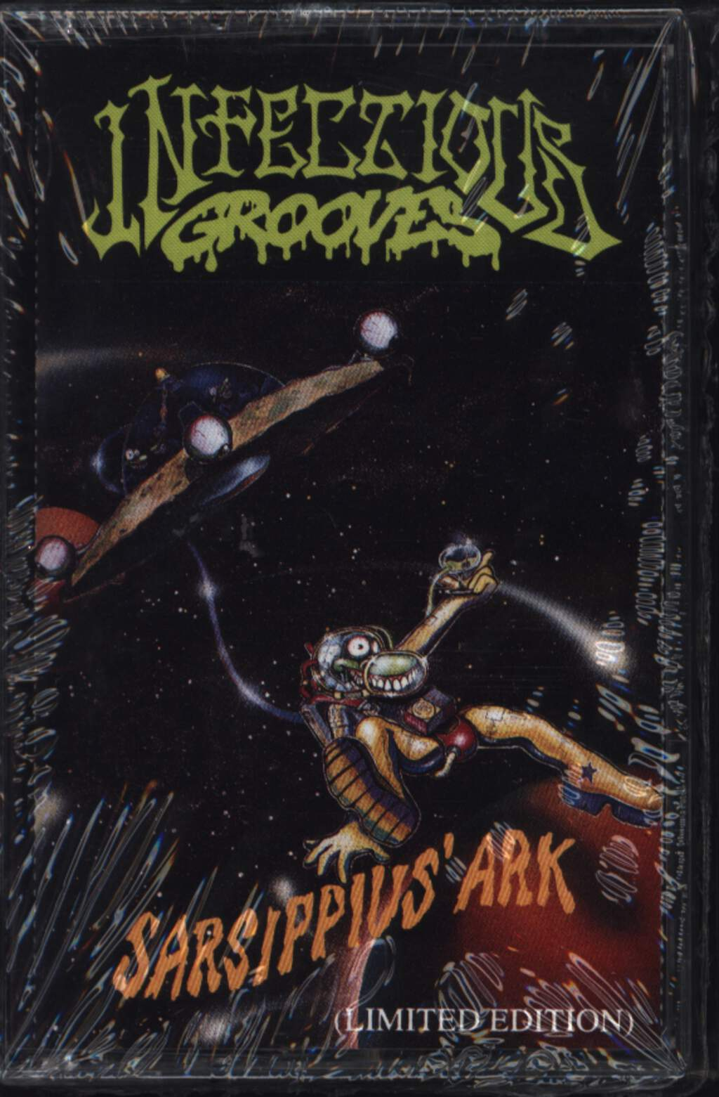 Infectious Grooves: Sarsippius' Ark (Limited Edition), Tape