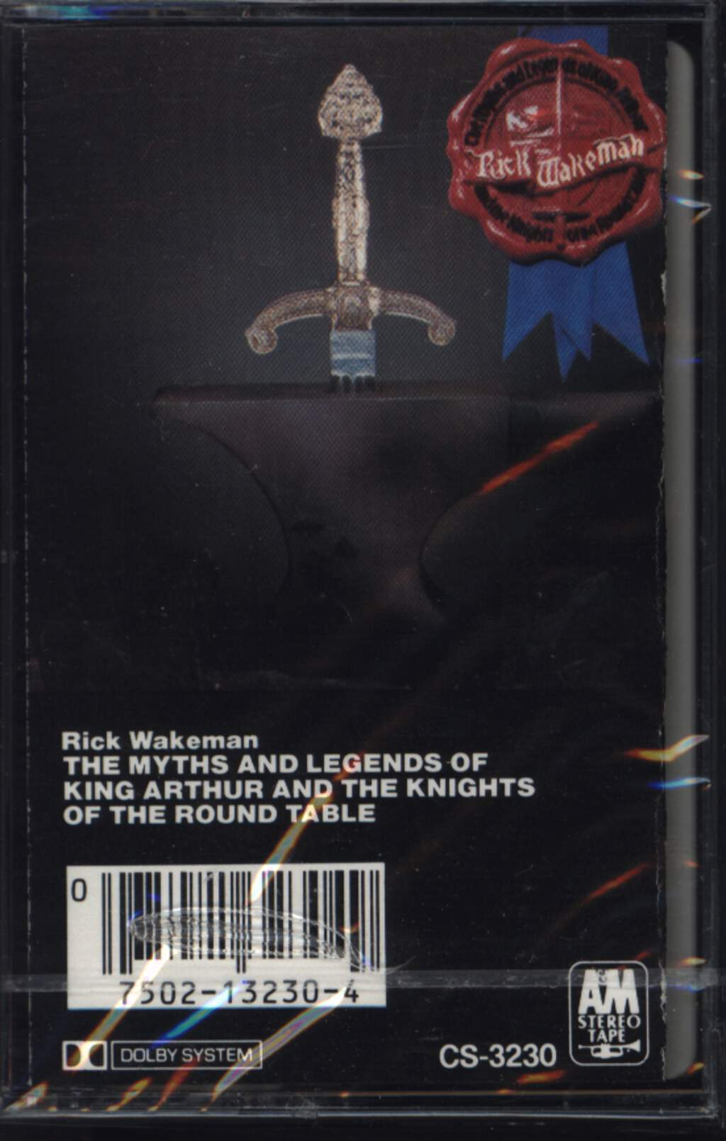 Rick Wakeman: The Myths And Legends Of King Arthur And The Knights Of The Round Table, Compact Cassette