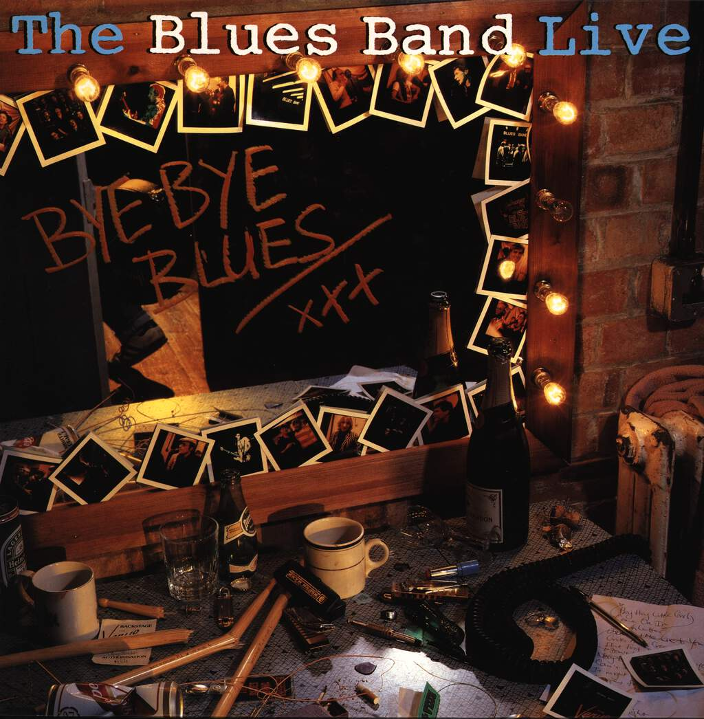 The Blues Band: Bye Bye Blues - The Blues Band Live, LP (Vinyl)