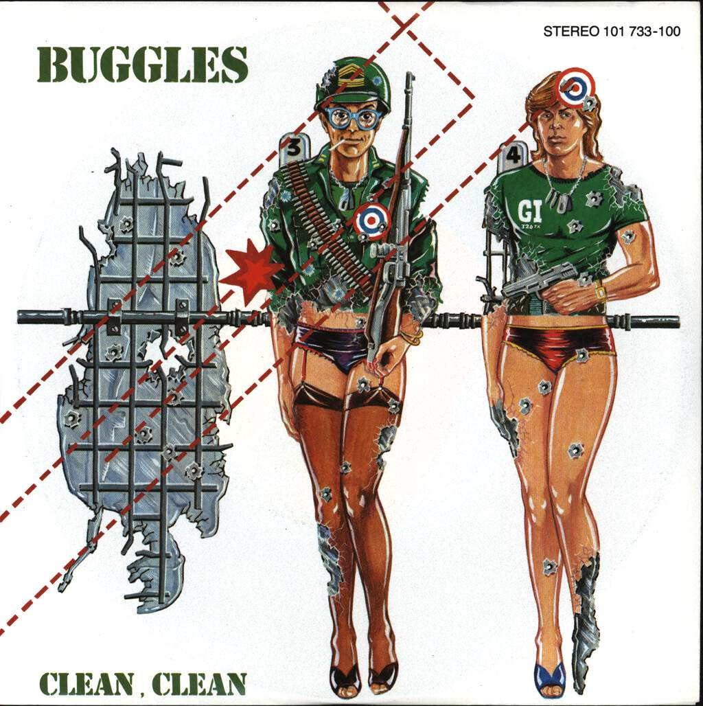 "The Buggles: Clean, Clean, 7"" Single (Vinyl)"