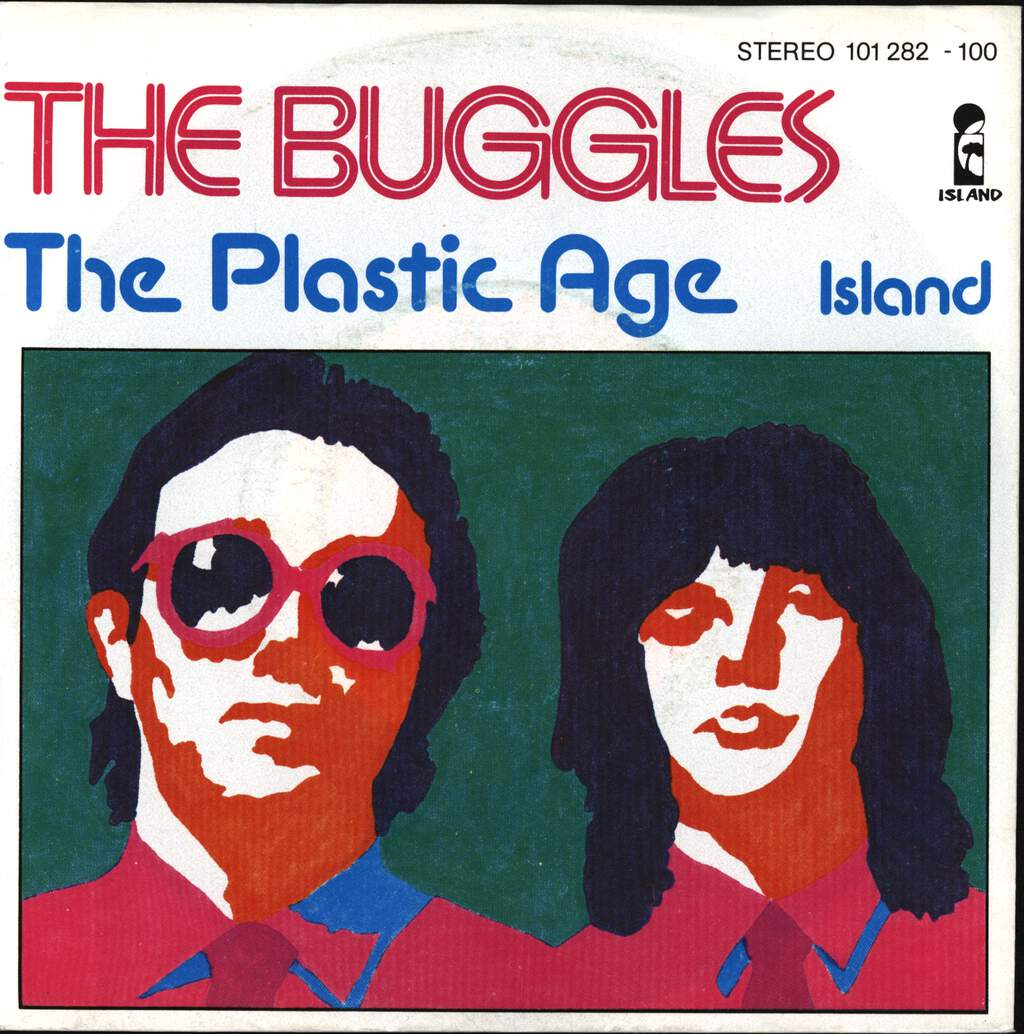 """The Buggles: The Plastic Age, 7"""" Single (Vinyl)"""