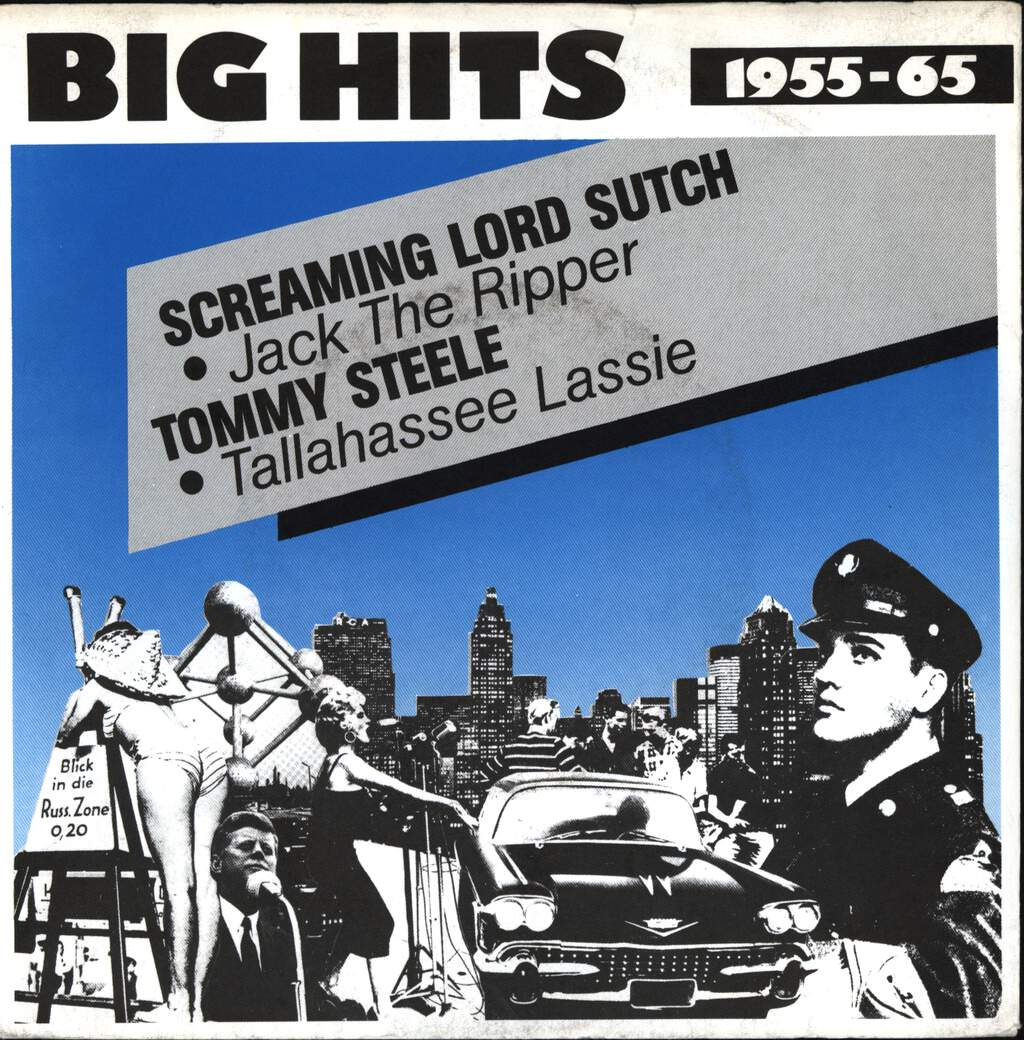 "Screaming Lord Sutch: Jack The Ripper / Tallahassee Lassie, 7"" Single (Vinyl)"