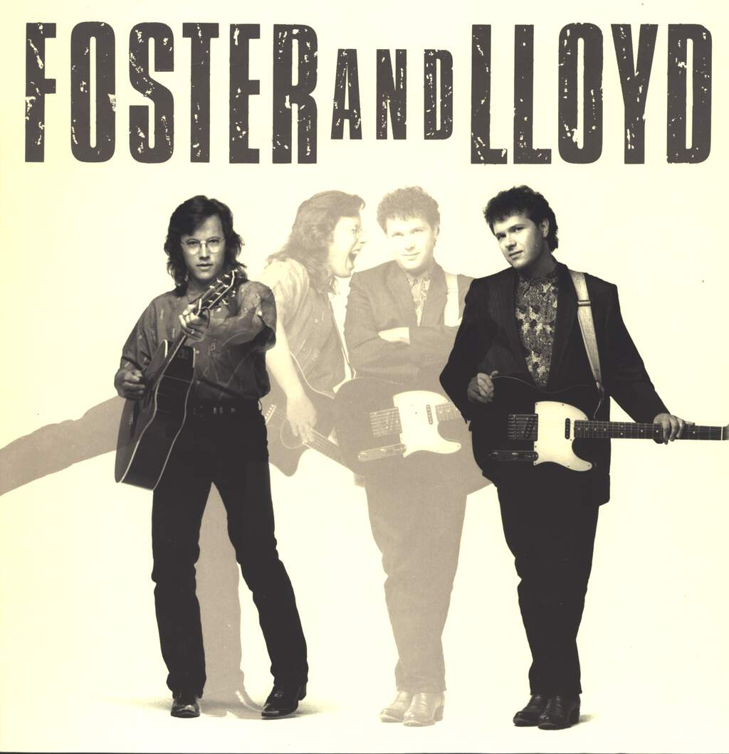 Foster And Lloyd: Foster And Lloyd, LP (Vinyl)
