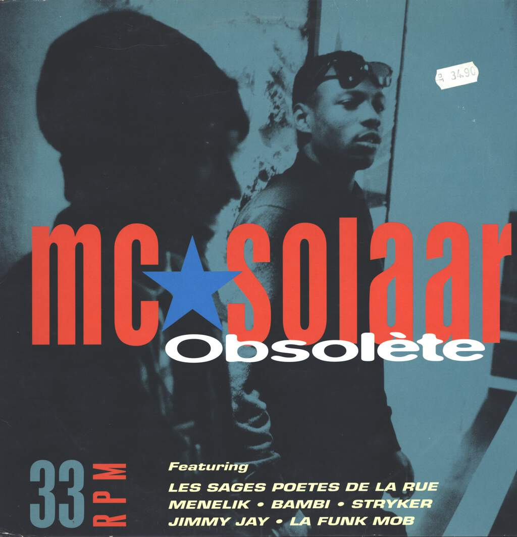 "Mc Solaar: Obsolète, 12"" Maxi Single (Vinyl)"