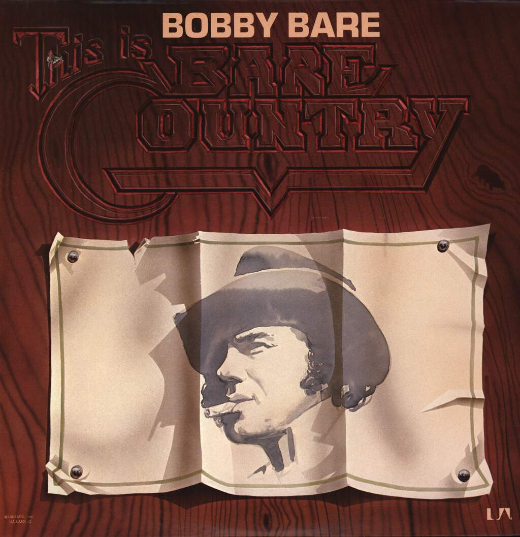 Bobby Bare: This Is Bare Country, LP (Vinyl)