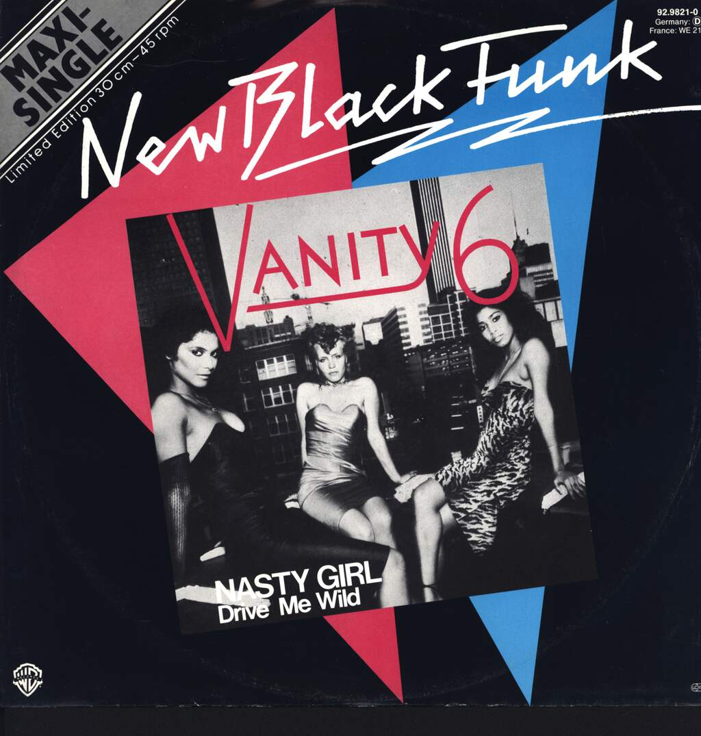 "Vanity 6: Nasty Girl, 12"" Maxi Single (Vinyl)"