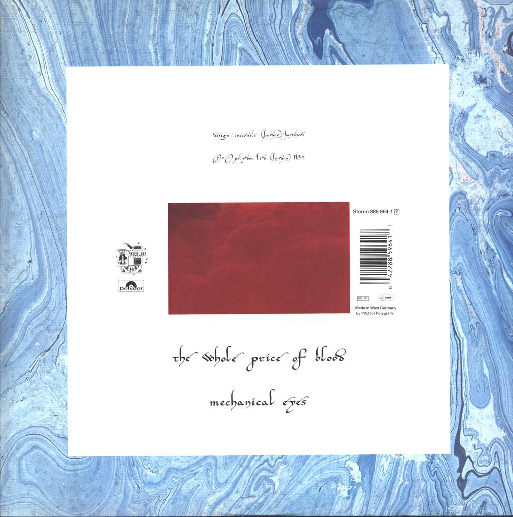 "Siouxsie & the Banshees: Song From The Edge Of The World (Columbus Mix), 12"" Maxi Single (Vinyl)"
