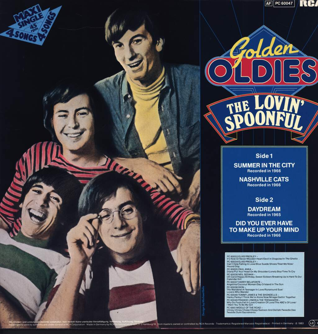 "The Lovin' Spoonful: Summer In The City, 12"" Maxi Single (Vinyl)"