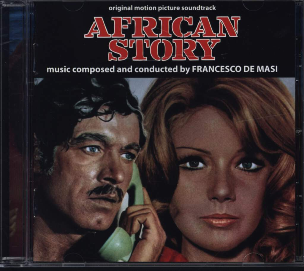 Francesco De Masi: African Story (Original Soundtrack), CD