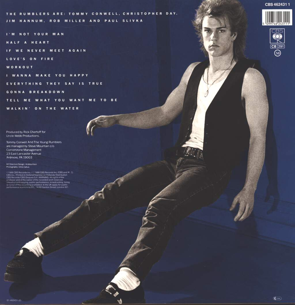 Tommy Conwell And The Young Rumblers: Rumble, LP (Vinyl)