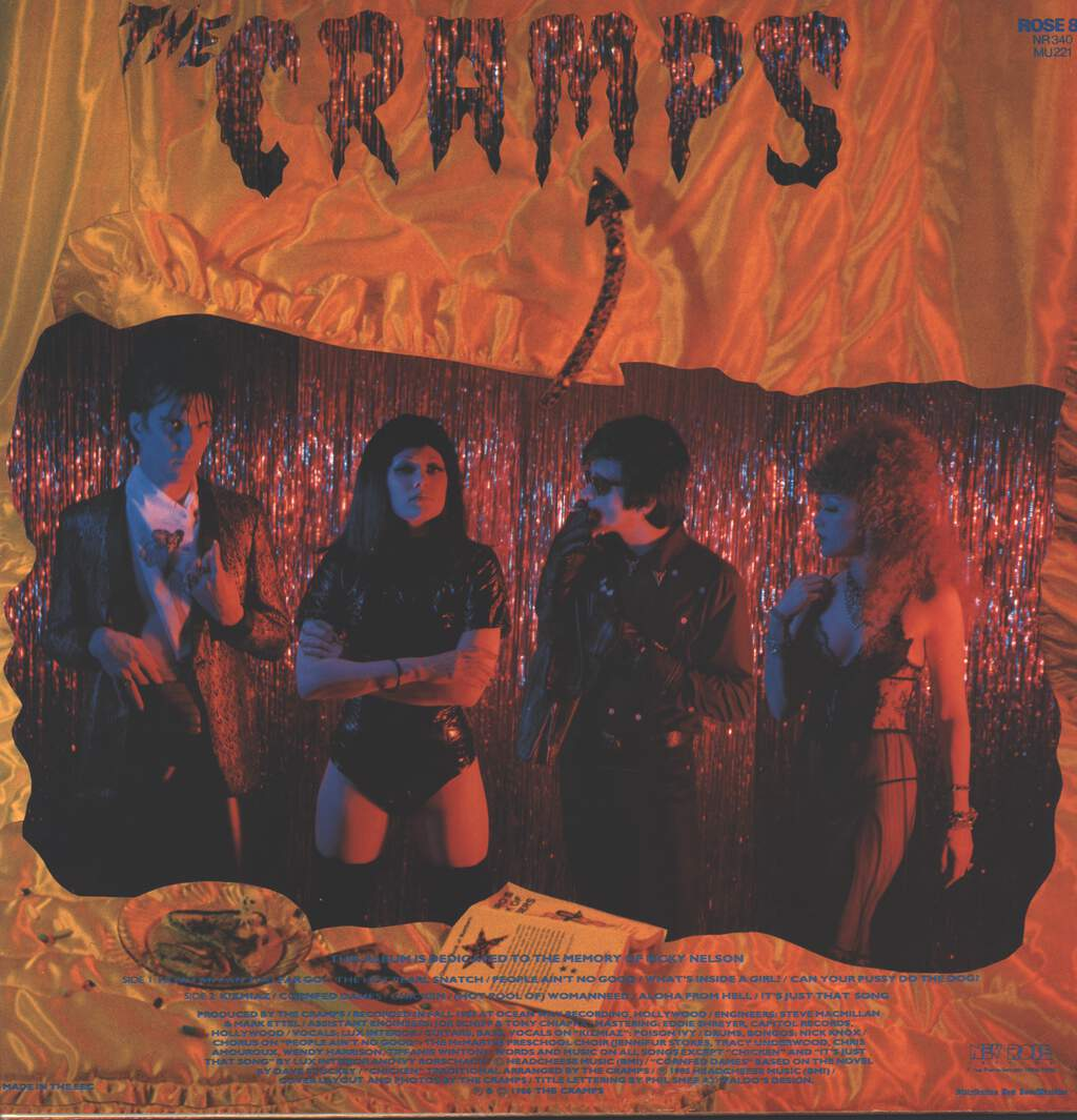 The Cramps: A Date With Elvis, LP (Vinyl)