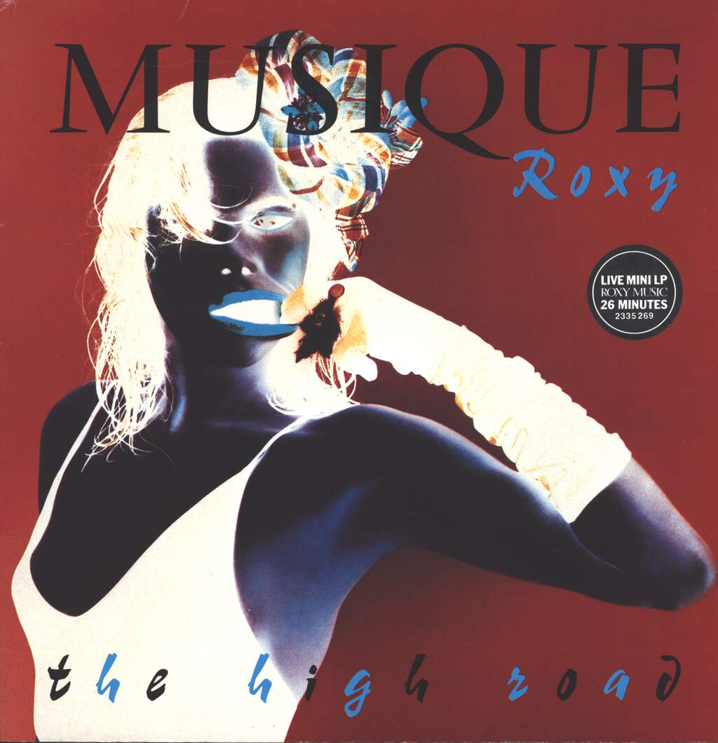 Roxy Music: The High Road, Mini LP (Vinyl)