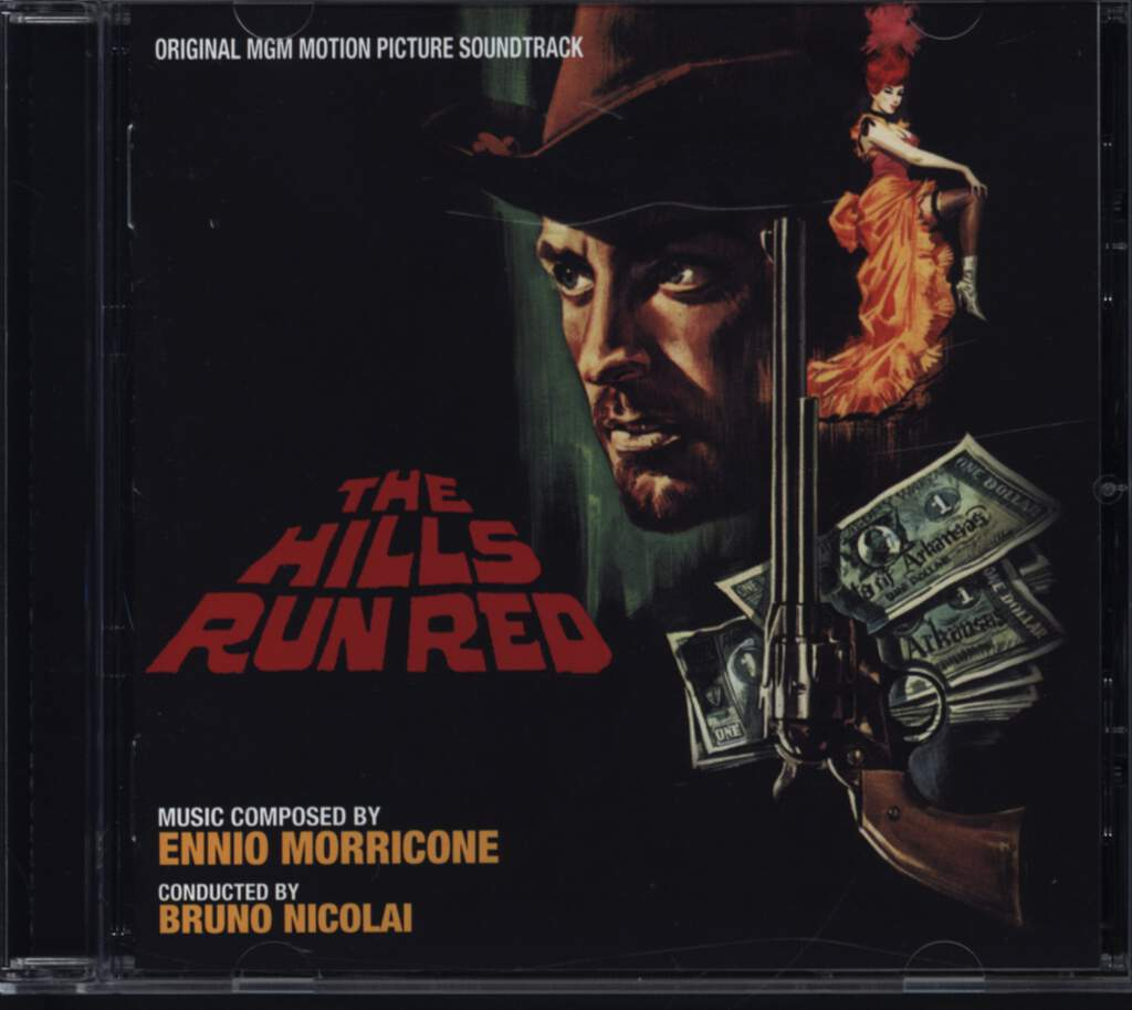 Ennio Morricone: The Hills Run Red (Original Soundtrack), CD