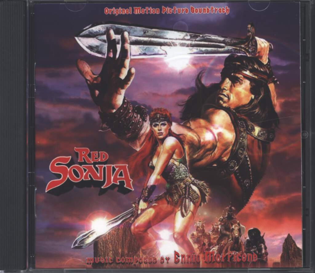 Ennio Morricone: Red Sonja (Original Soundtrack), CD