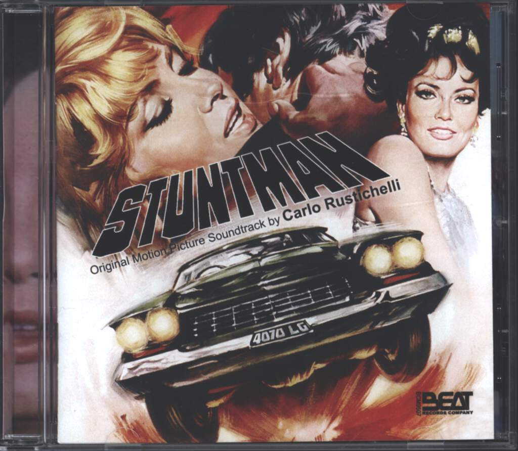 Carlo Rustichelli: Stuntman (Original Soundtrack), CD