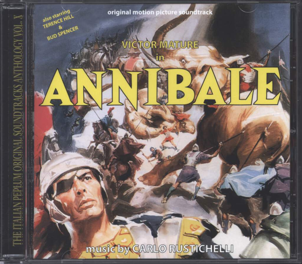 Carlo Rustichelli: Annibale (Original Soundtrack), CD