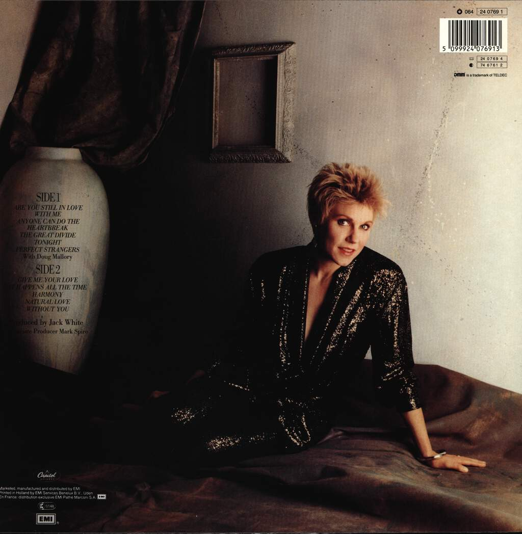 Anne Murray: Harmony, LP (Vinyl)