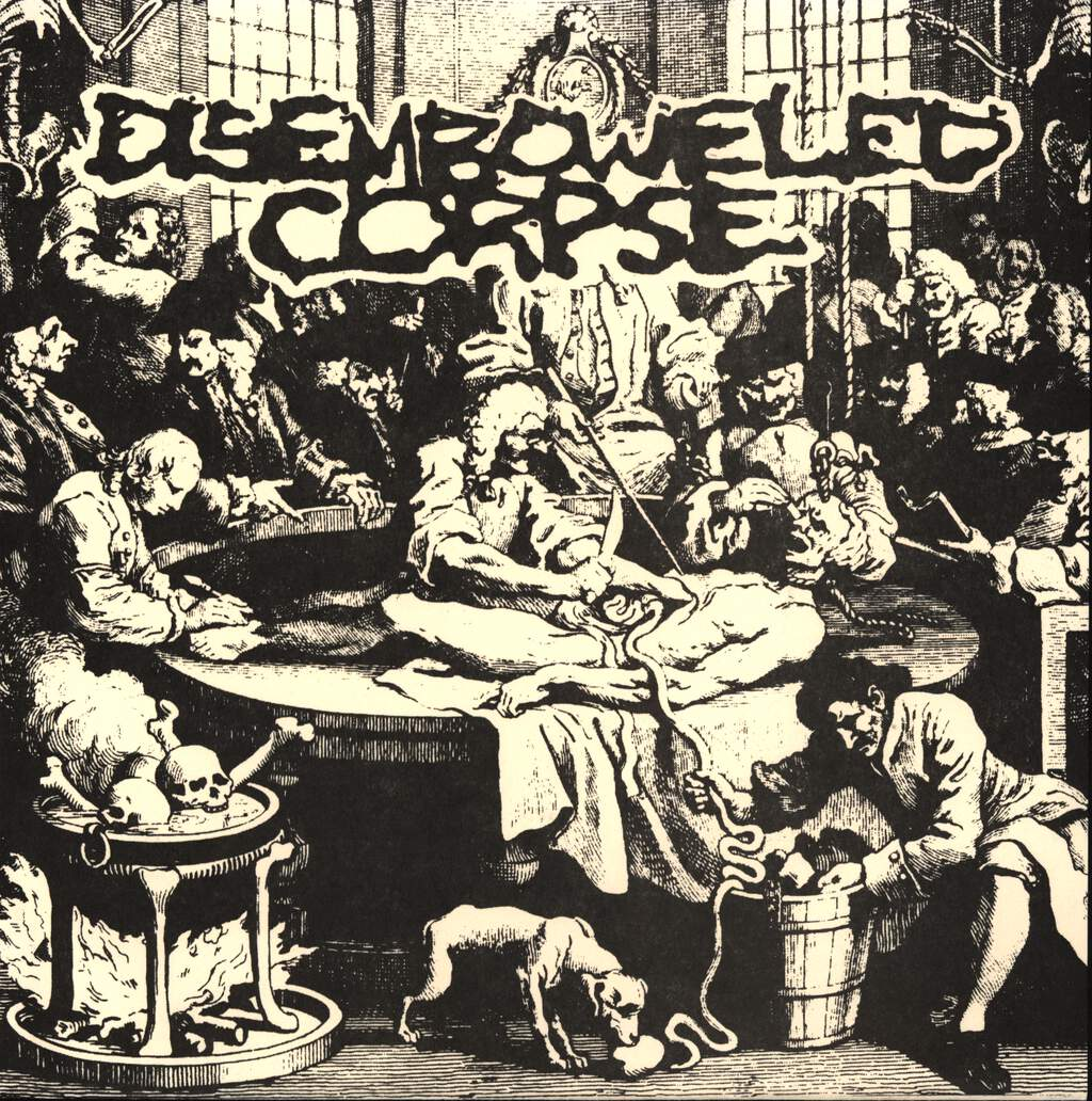 """Disemboweled Corpse: Black As The Coals Of Hell, 7"""" Single (Vinyl)"""