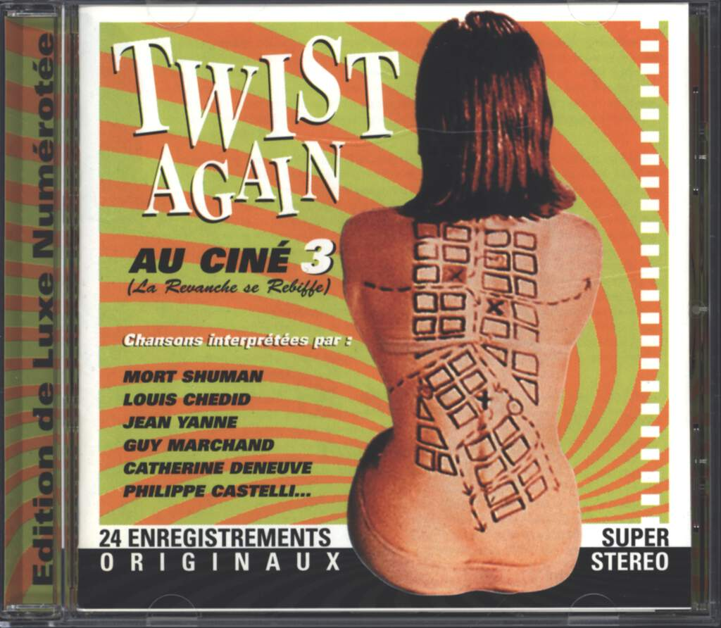Various: Twist Again Au Ciné Vol.3, CD