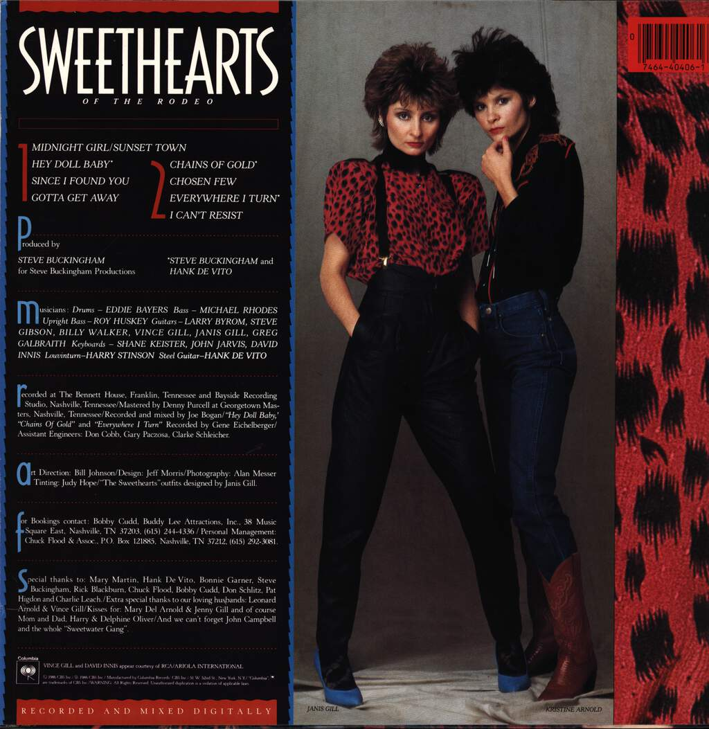 Sweethearts Of The Rodeo: Sweethearts Of The Rodeo, LP (Vinyl)