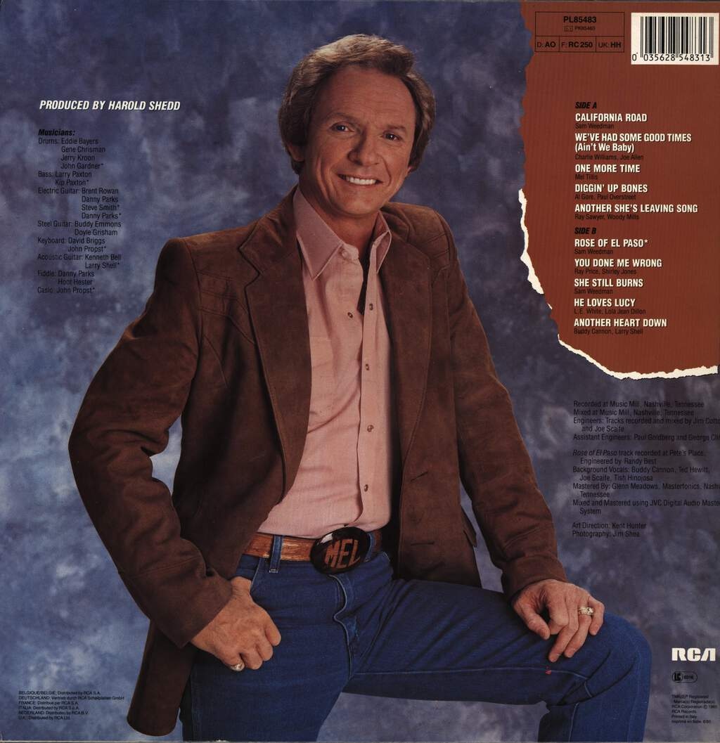 Mel Tillis: California Road, LP (Vinyl)