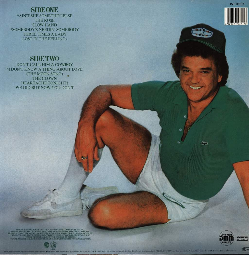 Conway Twitty: Conway´s Latest Greatest Hits, LP (Vinyl)