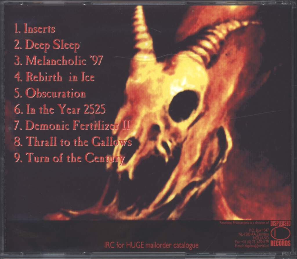 Eternal Solstice: Demonic Fertilizer, CD