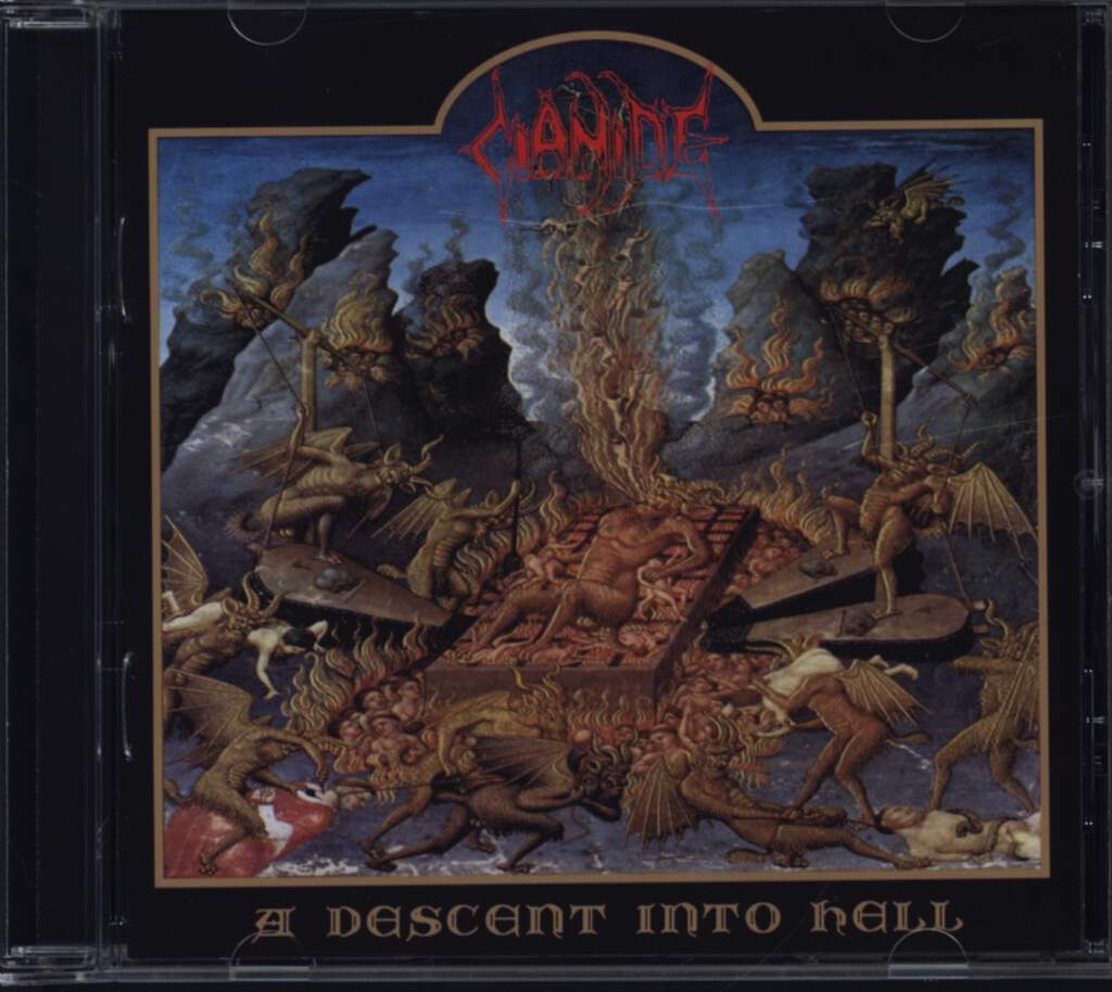 Cianide: A Descent Into Hell, CD