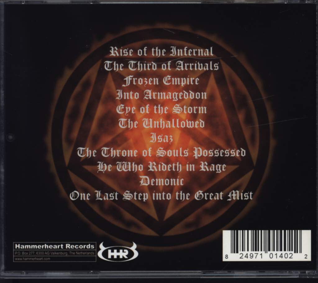 Necrophobic: The Third Antichrist, CD