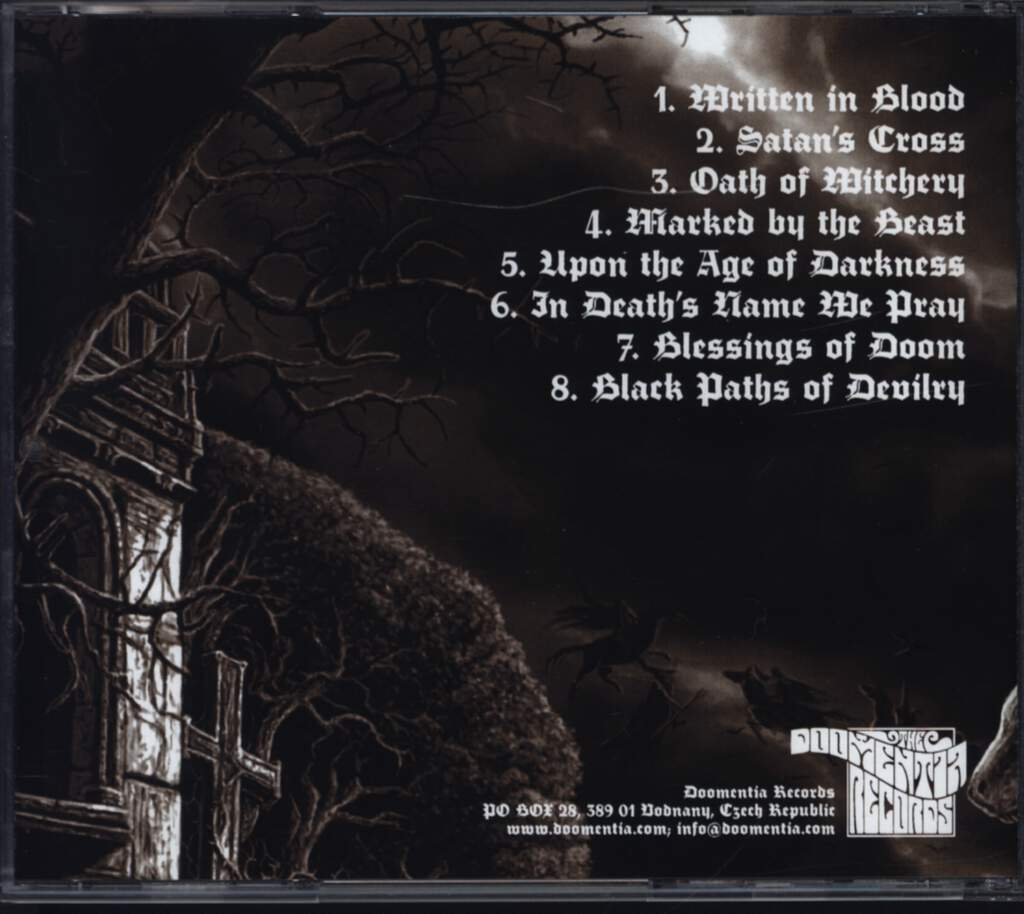 Sathanas: Worship The Devil, CD