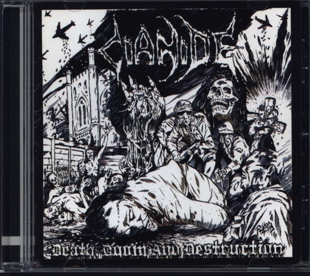 Cianide: Death, Doom And Destruction, CD