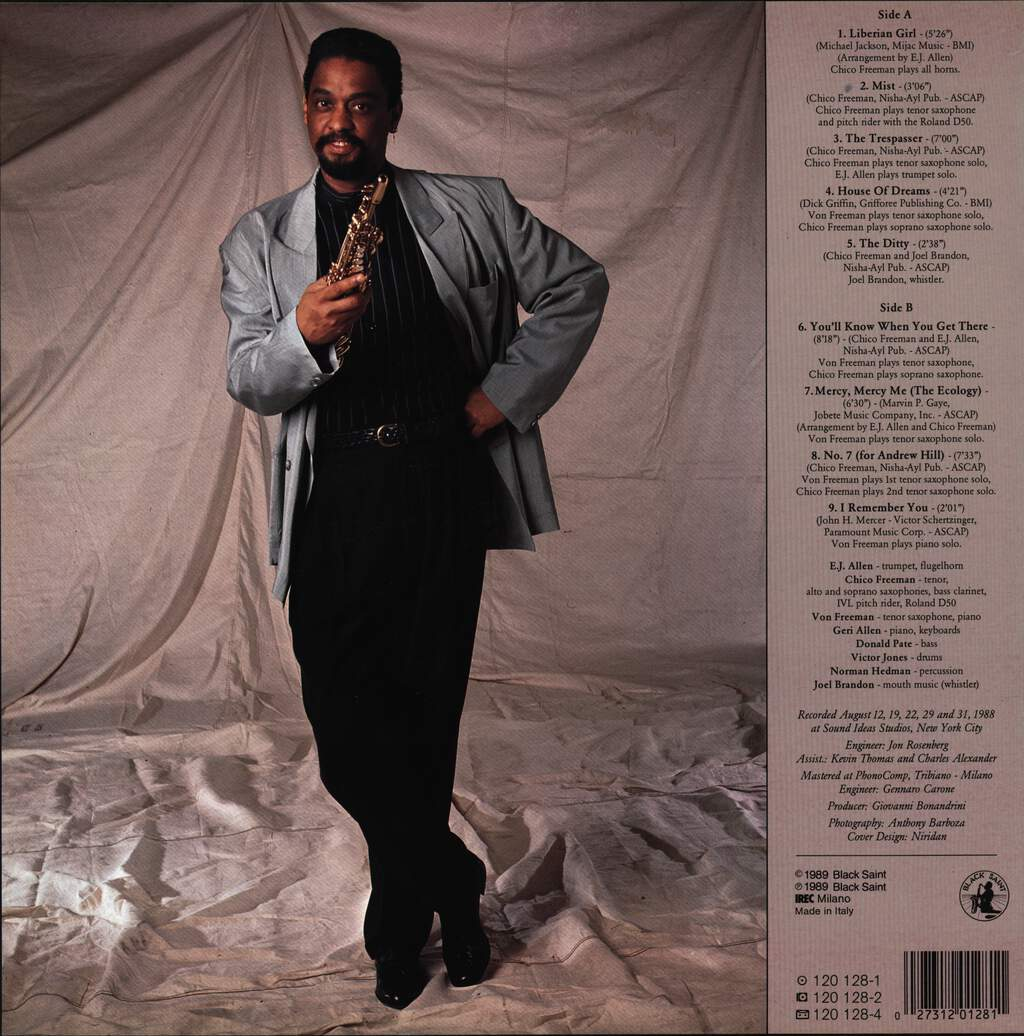 Chico Freeman: You'll Know When You Get There, LP (Vinyl)