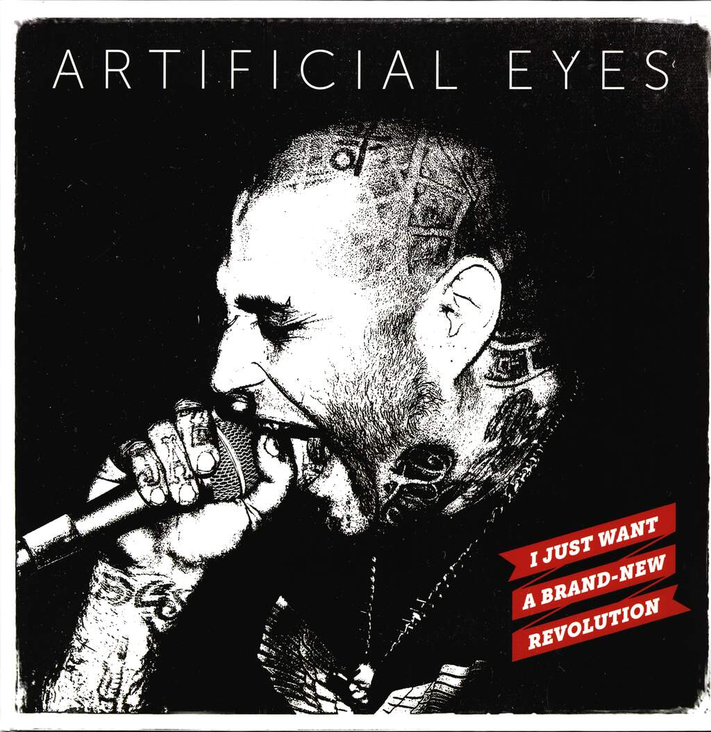 "Artificial Eyes: I Just Want A Brand - New Revolution, 12"" Maxi Single (Vinyl)"