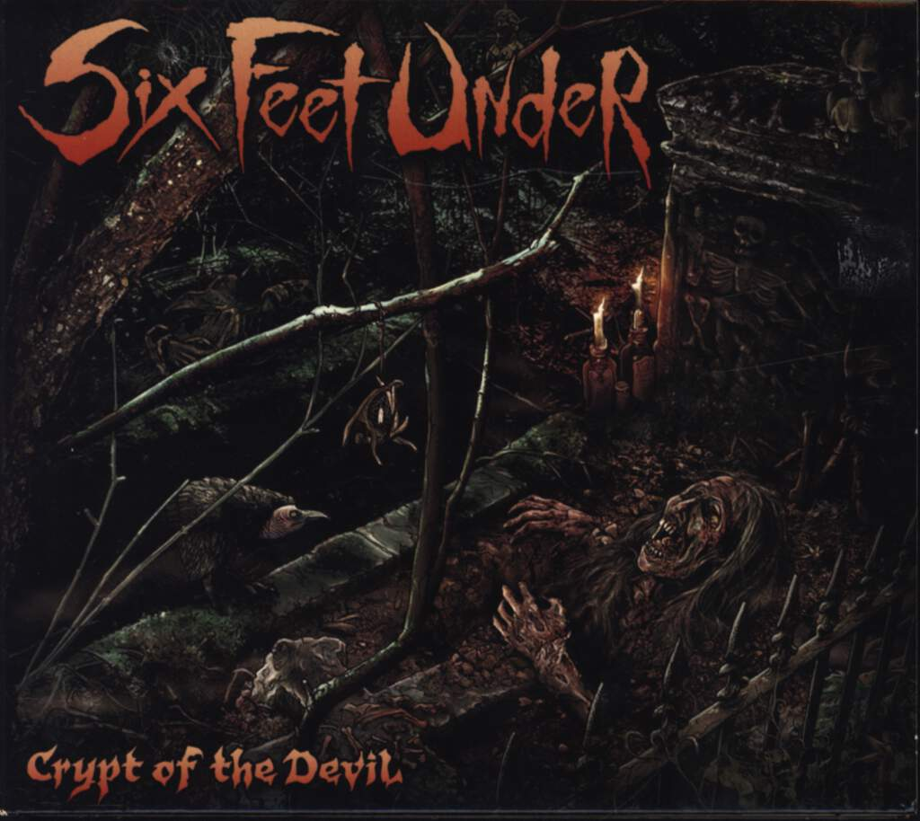 Six Feet Under: Crypt Of The Devil, CD