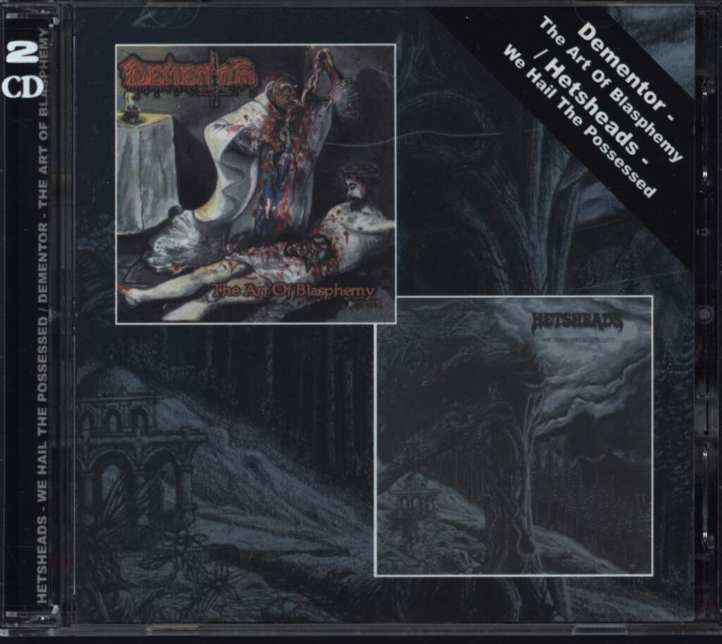 Dementor: The Art Of Blasphemy  / We Hail The Possessed, CD