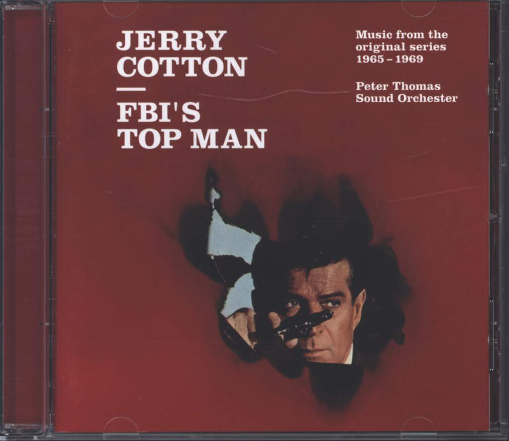 Peter Thomas Sound Orchestra: Jerry Cotton - FBI's Top Man, CD