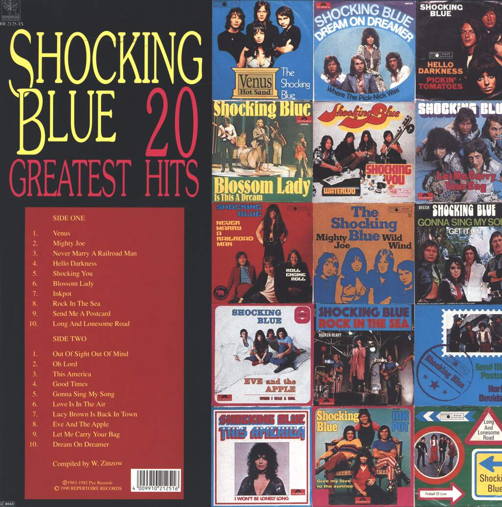 Shocking Blue: 20 Greatest Hits, LP (Vinyl)