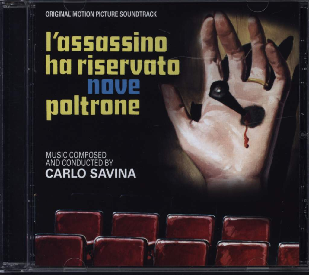 Carlo Savina: L'Assassino Ha Riservato Nove Poltrone, CD