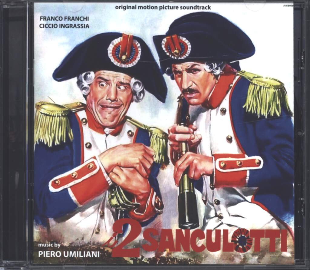 Piero Umiliani: I Due Sanculotti (Original Motion Picture Soundtrack), CD